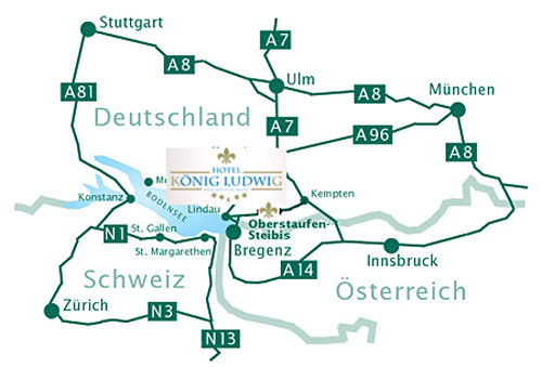 Anfahrtgolf Resortdirections From Munich To Hotel König